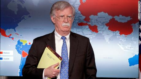 Bolton cancels South Korea trip to focus on Venezuela - CNN