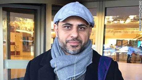 Taha al-Hajji, a Saudi Arabian He Refugees in Germany