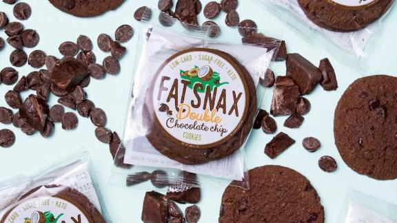 Fat Snax cookies are keto, low-carb and sugar-free.