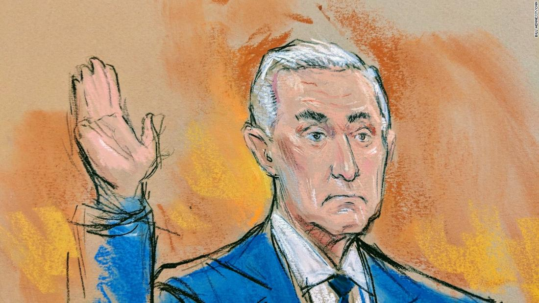 Roger Stone argues against gag order, says he's no Kim Kardashian