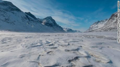 Melting glaciers in the Canadian Arctic have revealed landscapes not seen in 40,000 years
