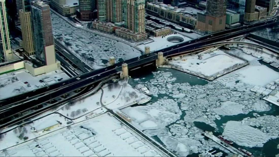 As deep freeze grips US, Chicago will be colder than Antarctica this week