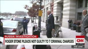 Indicted on 7 counts by Mueller, Roger Stone pleads not guilty