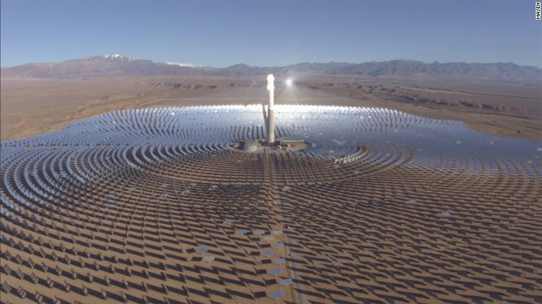 Morocco is home to the world's largest concentrated solar farm.