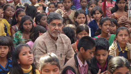 Kailash Satyarthi plans to end child labor in his lifetime