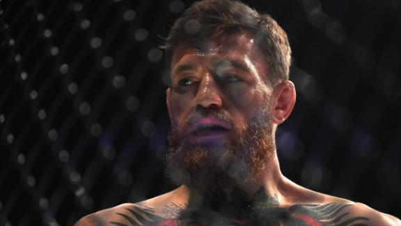 Mixed martial artist Conor McGregor, pictured here in October 2018, is another famous southpaw.