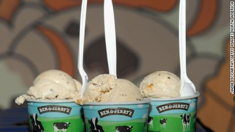 Ben & Jerry's is phasing out single-use plastic in its ice cream shops