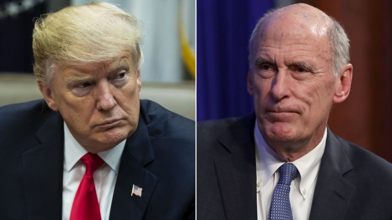 Watch top intel chiefs contradict Trump on ISIS, Russia