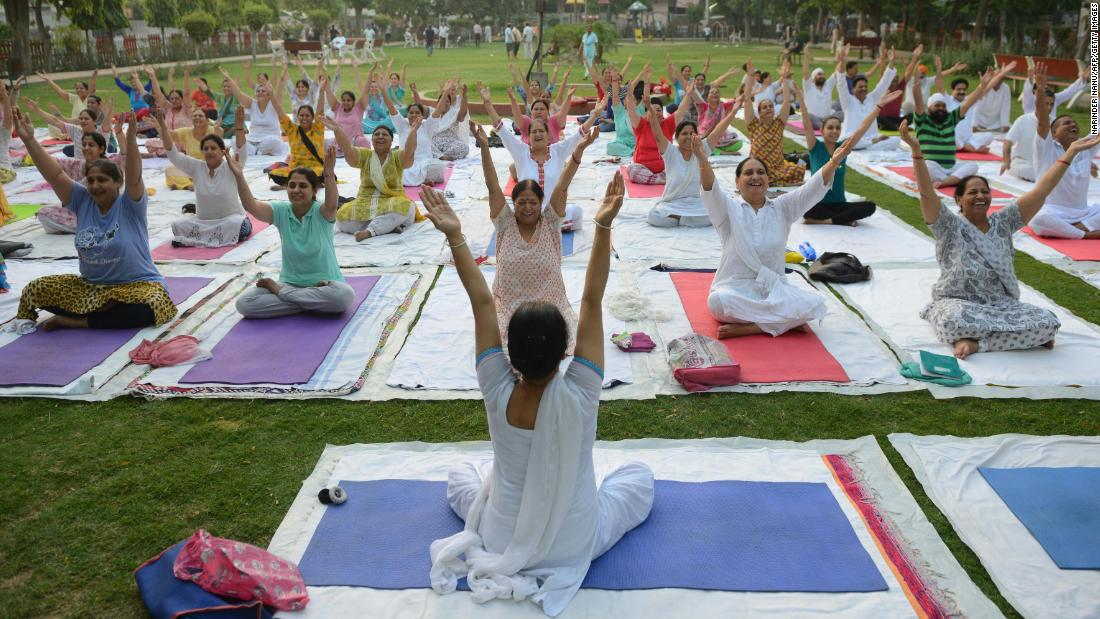 Indians angry at yogic breathing technique's 'Western rebrand'
