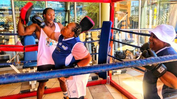 The boxing grannies have been coming to a gym on the outskirts of Johannesburg twice a week since 2014.