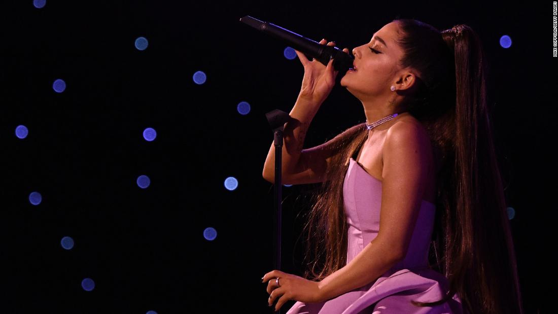 Ariana Grande ties Beatles and makes chart history