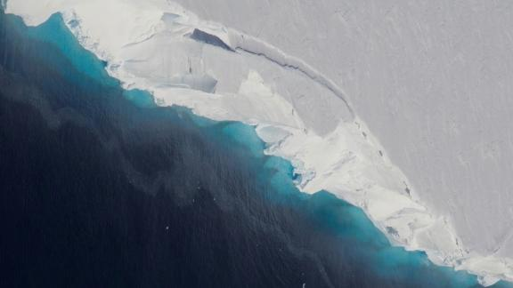 The Thwaites Glacier in West Antarctica