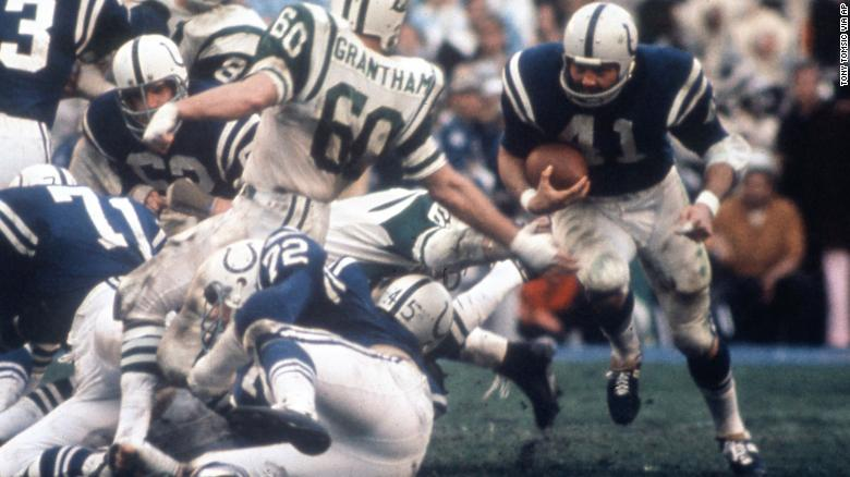 Super Bowl III was one of the biggest upsets in sports history. (Tony Tomsic via AP)