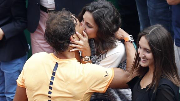 Rafael Nadal and girlfriend Mery Perello reportedly got engaged last May.