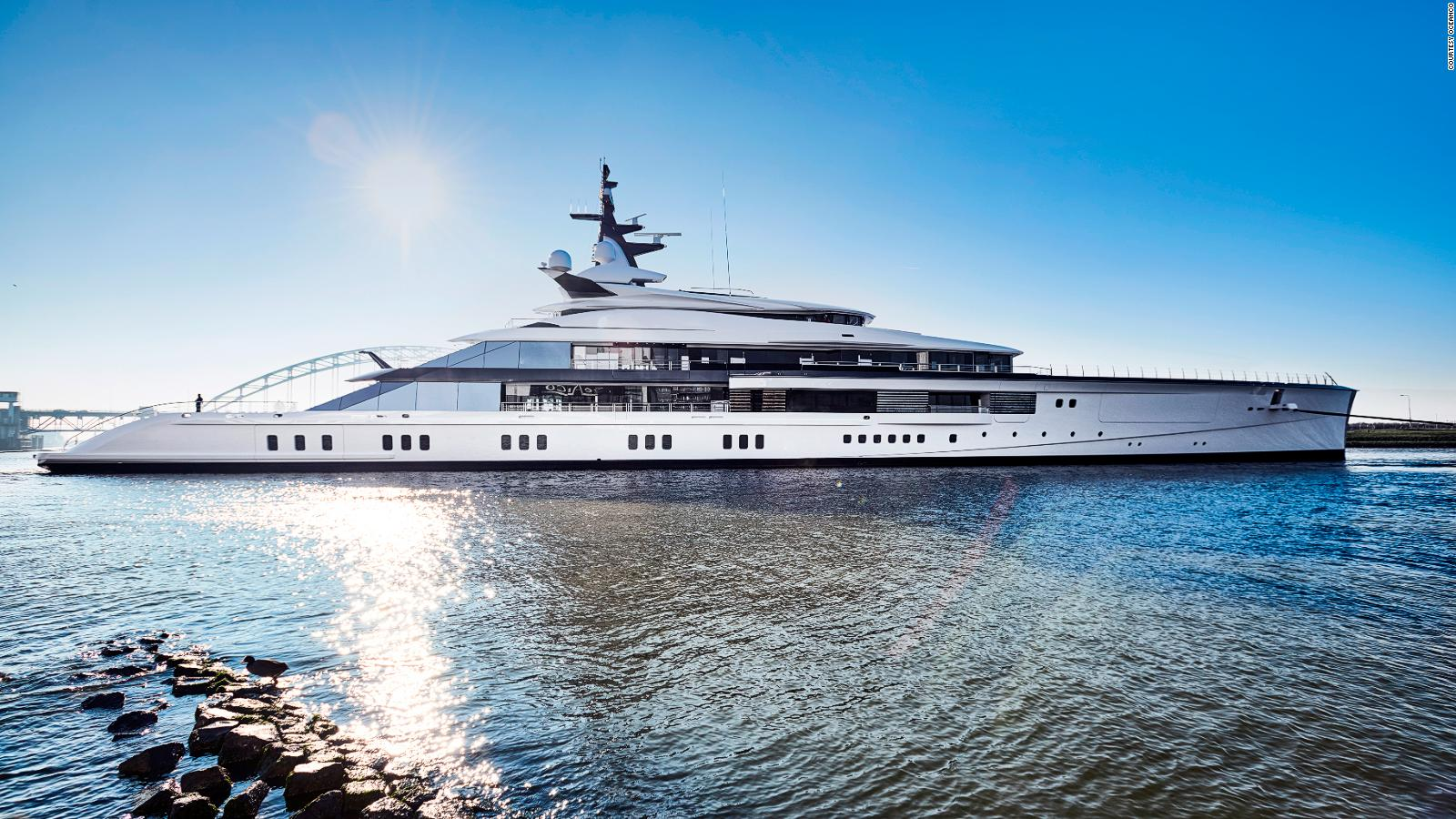 Superyachts Of The Future Bigger Greener Sexier Cnn Travel