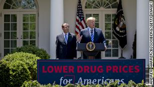 Trump proposal would upend drug industry by overhauling rebates in Medicare