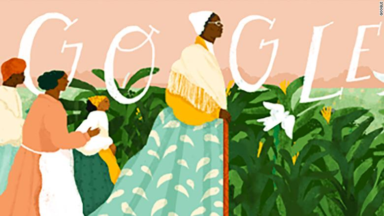 The Google Doodle dedicated to Sojourner Truth by artist Loveis Wise