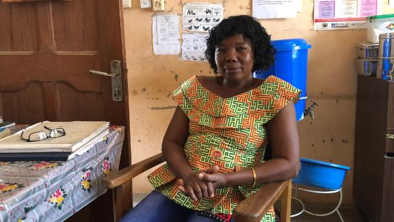 Midwife Felicia Akansi delivers about 15 babies every month with limited resources.