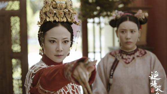 A promotional still from the hugely successful Chinese TV show Story of Yanxi Palace