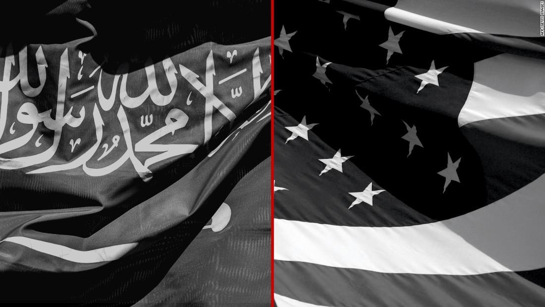 二つについて説明することのできるサウジアラビアの米同盟