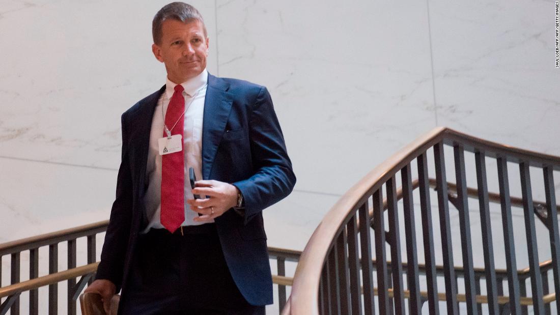 Erik Prince financed effort to find Clinton's emails, Mueller report says