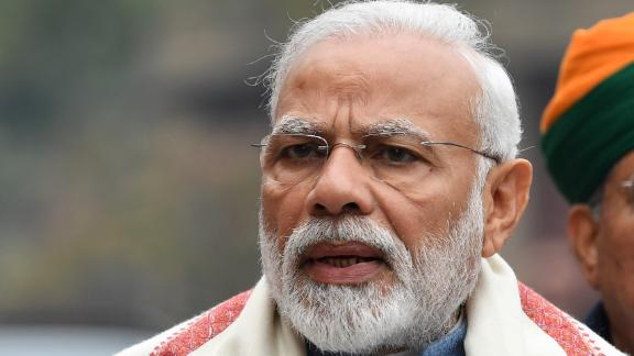 Indian Prime Minister Narendra Modi said the country shot down its own low-orbit satellite with a missile.