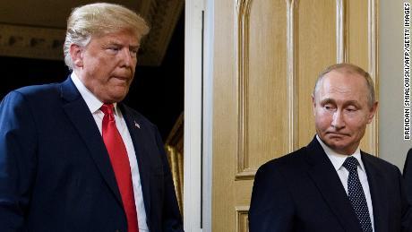 Trump says he got over with Putin