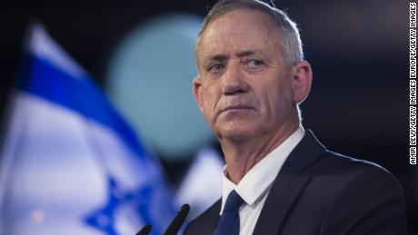 Benny Gantz -- who may become the main challenger to Netanyahu -- has tried hard to position himself as a centrist but his language is hardly leftist.