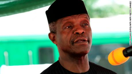 Vice President Yemi Osinbajo pictured on March 7, 2017.