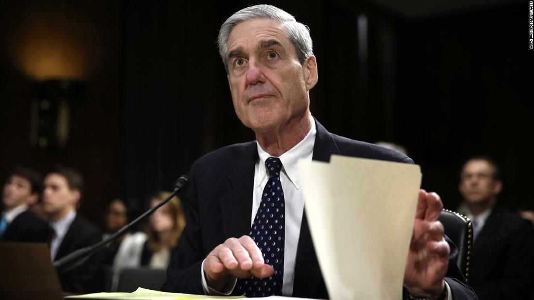 Robert Mueller's team says it's very busy this week