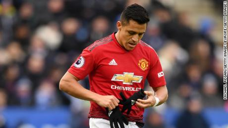 Alexis Sanchez made his first Premier League start since November on Sunday. The Manchester United midfielder was substituted in the 67th minute for Anthony Martial.