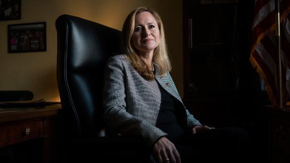 Rep. Debbie Mucarsel-Powell, D- Fla., a freshman member of Congress in Washington, D.C., on Jan. 15, 2019.