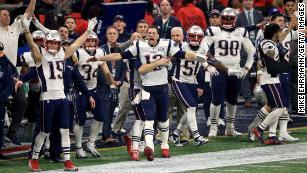 NFL Superbowl Champions LIII Schal New England Patriots