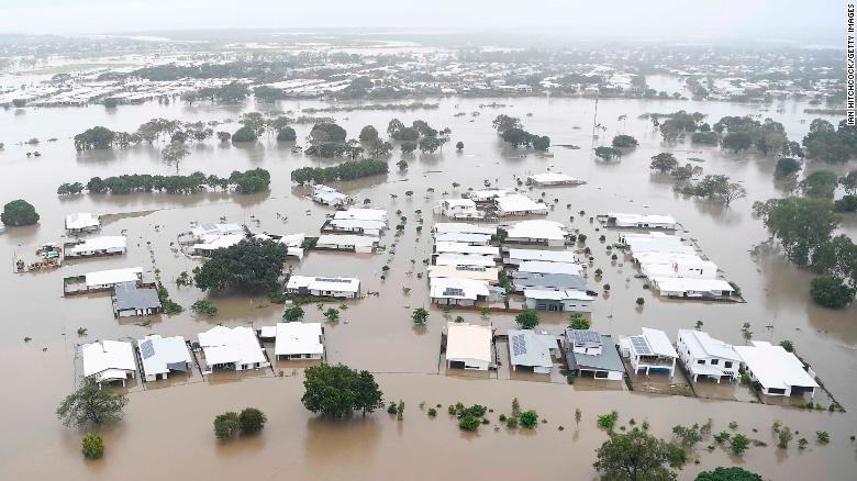 See the devastating floods inundating Australia
