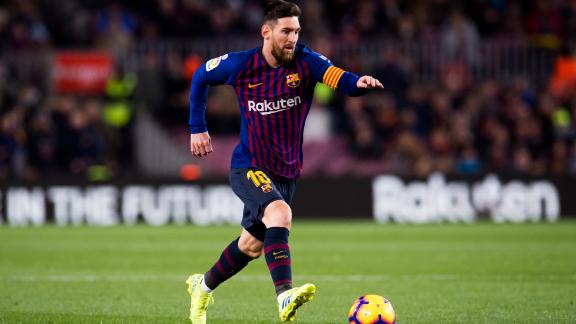 Barcelona are likely to be without the injured Lionel Messi for the first leg.