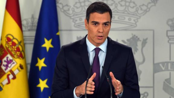 Spanish Prime Minister Pedro Sanchez called a snap election in February