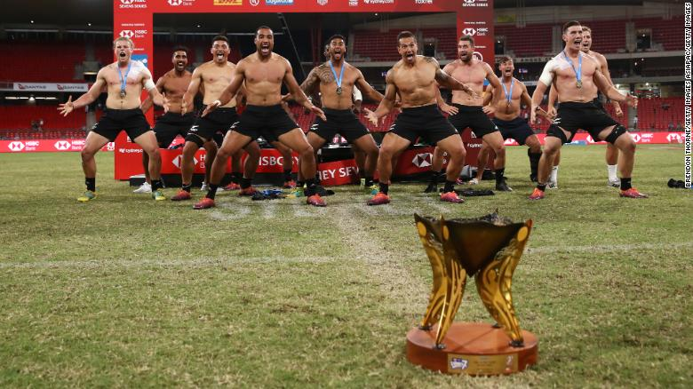 The All Blacks Sevens secured their second title of the season after defeating USA in the final in Sydney.