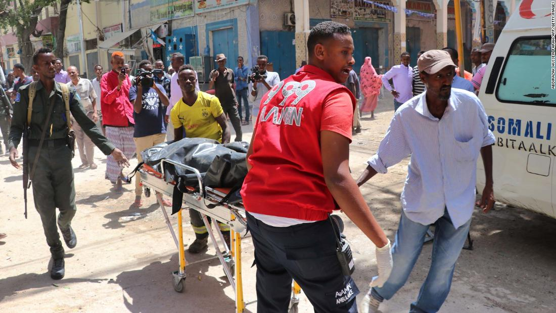 Car bomb explodes in Somalia, killing at least 10 people