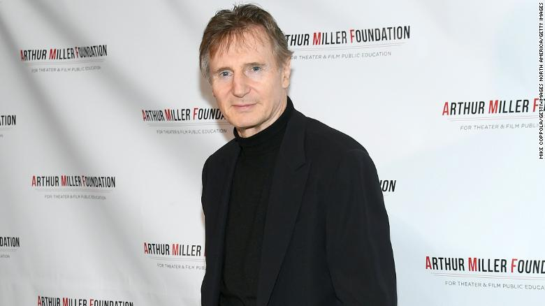 Liam Neeson expresses regret for once contemplating racist revenge