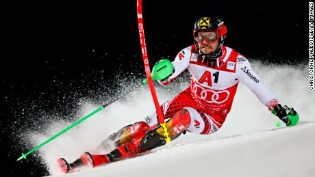 Marcel Hirscher won two golds at the 2018 Winter Olympics.