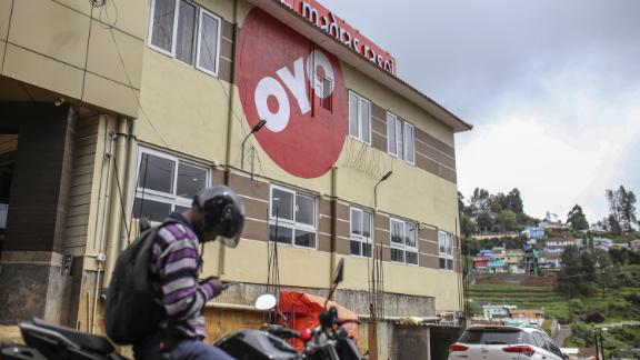 OYO currently operates more than 13,000 hotels in eight countries.