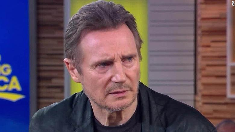 Liam Neeson says his 'horrible' feelings shocked him