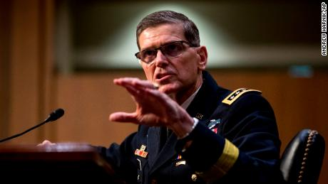 Top US general says Trump did not consult him on Syria announcement