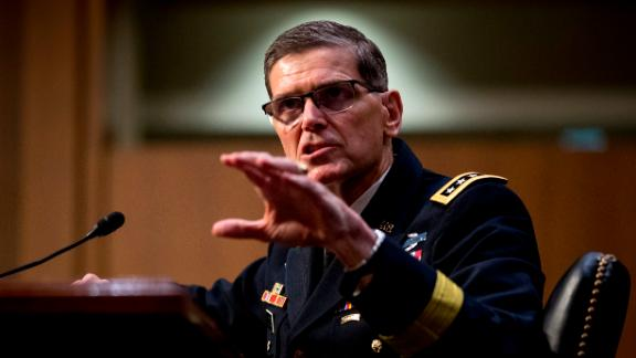 U.S. Central Command Commander Gen. Joseph Votel speaks at a Senate Armed Services Committee hearing on Capitol Hill, Tuesday, Feb. 5, 2019, in Washington. (AP/Andrew Harnik)