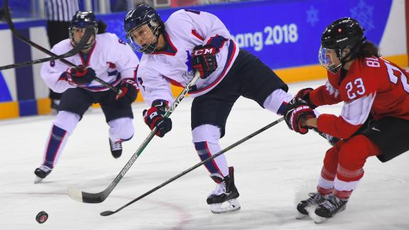 February 10, 2018, the unified Korean team took to the ice for the first time in Winter Olympics history