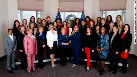 Nevada's new legislature has more women than men. It's a first for the country