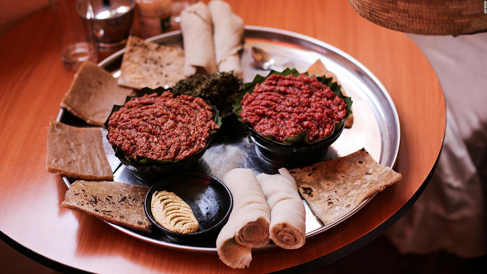 Weird Ethiopian Food 9