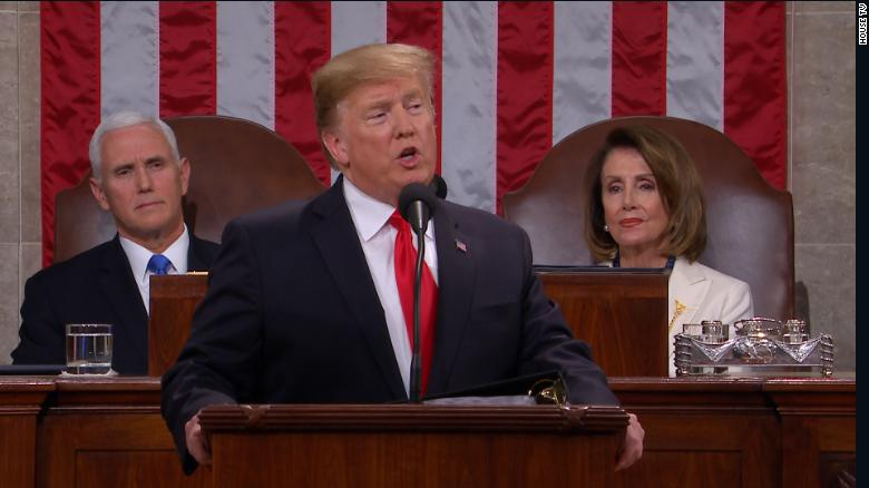 Image result for trump's state of the union