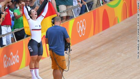 Vogel's Rio triumph was her second Olympic gold medal for Germany.
