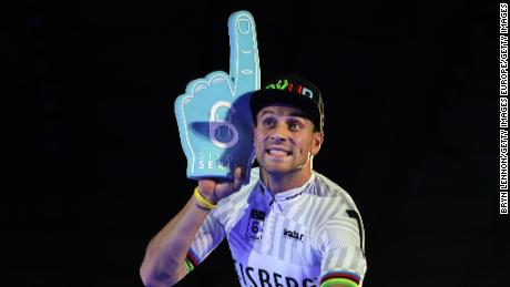 Vogel's close friend Maximilian Levy delighted the Berlin Six Day crowd with his eighth win in the overall sprint competition at the famous event.
